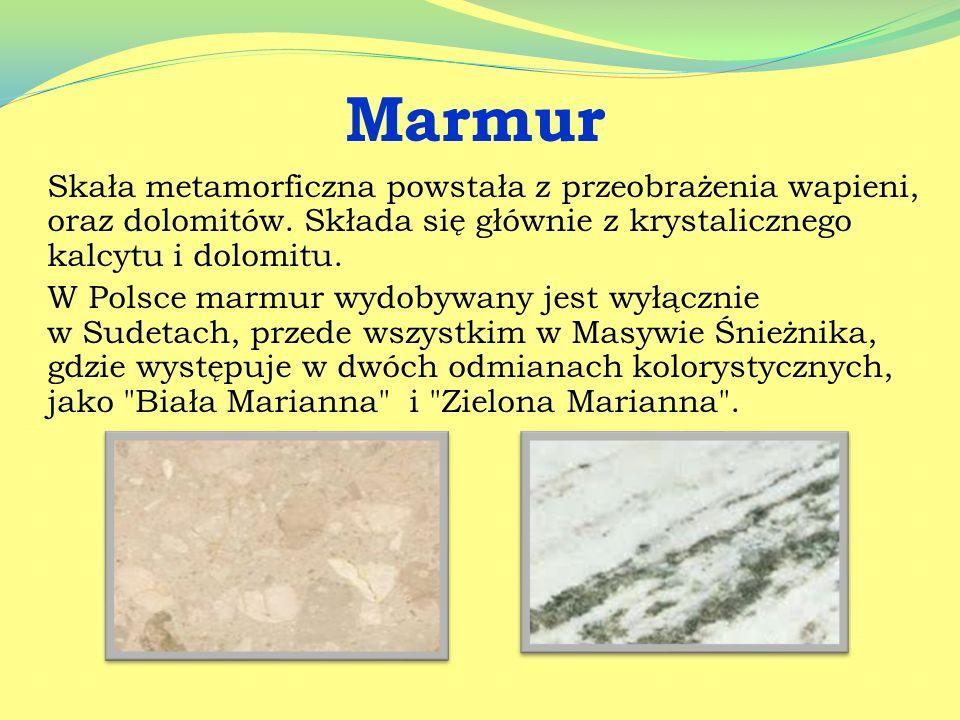 Węglan miedzi – Cu 2 [CO 3 ][OH] 2 – malachit Węglan miedzi występujący jako minerał malachit. Jest zielony, daje się polerować. W największych ilości