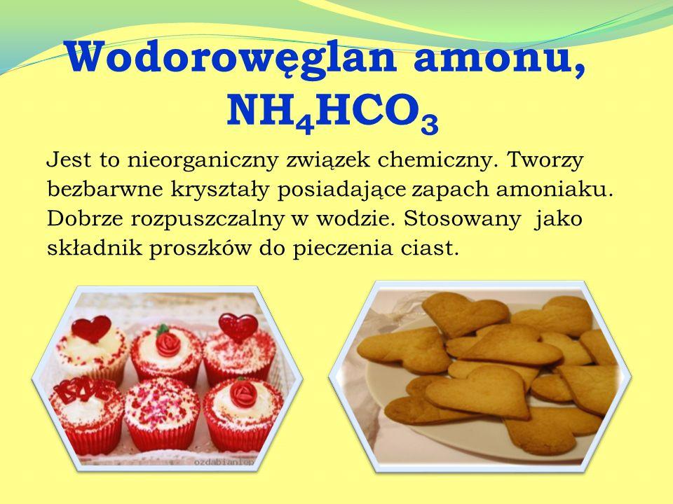 Sole które wykorzystujemy w kuchni to między innymi: wodorowęglan amonu fosforan (V) wapnia azotan (V) potasu chlorek sodu