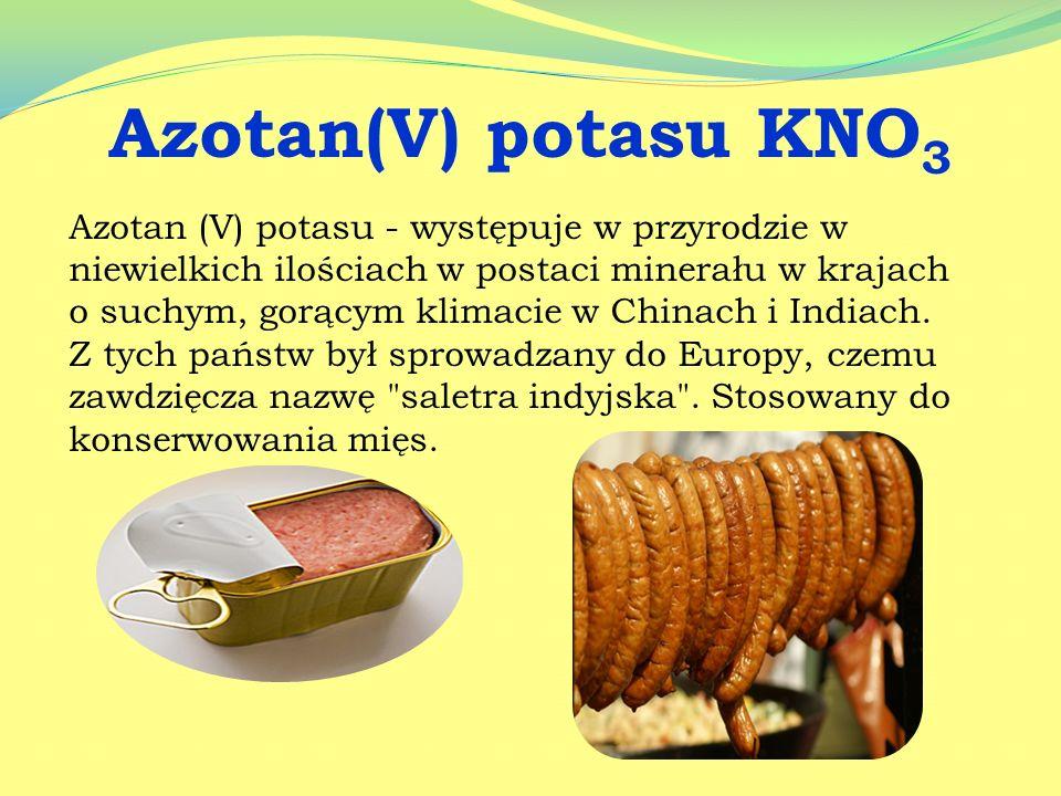 Jest stosowany w przemyśle spożywczym. Dodawany jest jako środek konserwujący do chleba, produktów mlecznych, przetworów owocowych oraz napojów energe