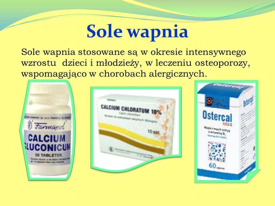 Węglan glinu: Stosowany jako lek zobojętniający nadmiar kwasu solnego w soku żołądkowym, czyli w nadkwaśności soku żołądkowego, chorobie wrzodowej żoł