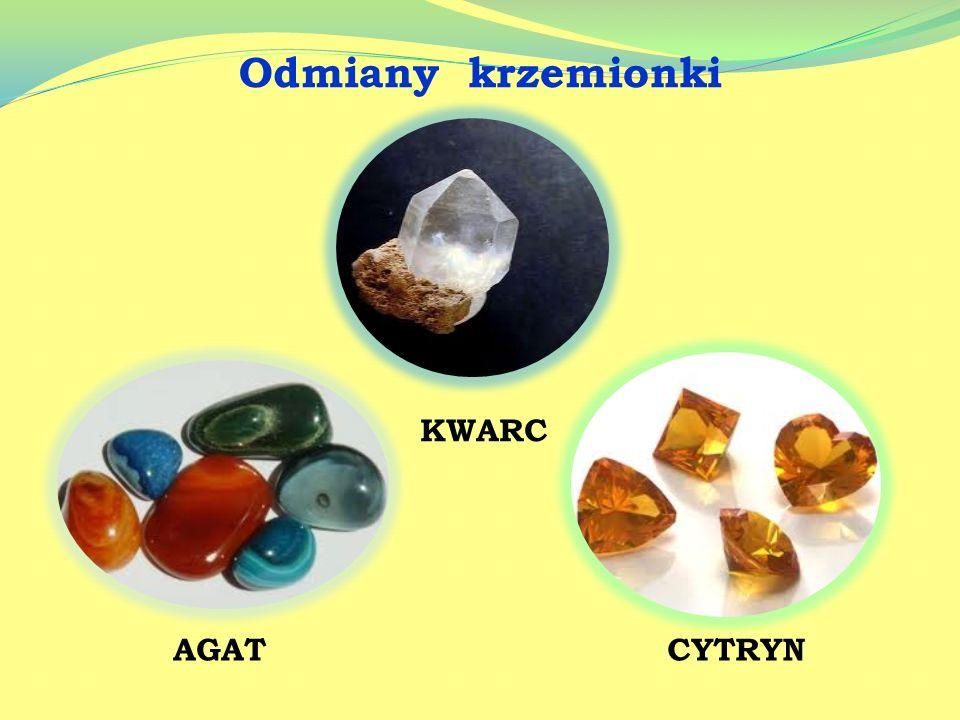 Skorupa ziemska składa się z soli i tlenków. Wiele soli stanowi kopaliny, czyli surowce wydobywane z Ziemi metodami górniczymi. Zewnętrzna warstwa sko