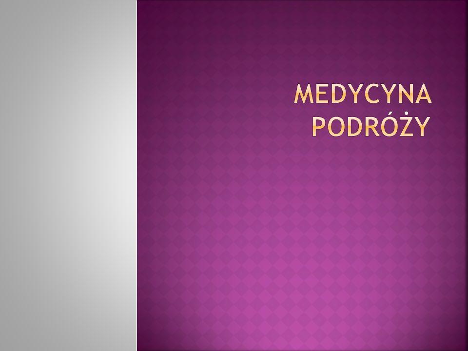 www.cimp.pl www.cimp.pl – lista poradni zajmujących się poradnictwem przed wyjazdem -możliwość zadawania pytań ekspertom z medycyny podróży www.who.int/ith - serwis WHO,zawiera listę krajów objętych obowiązkiemwww.who.int/ith szczepienia p/żółtej gorączce - wytyczne dotyczące szczepień zalecanych www.cdc.gov/travel www.cdc.gov/travel - informacje o szczepieniach zalecanych,zapobiegania malarii i innych formach profilaktyki zdrowotnej w podróżach międzynarodowych.