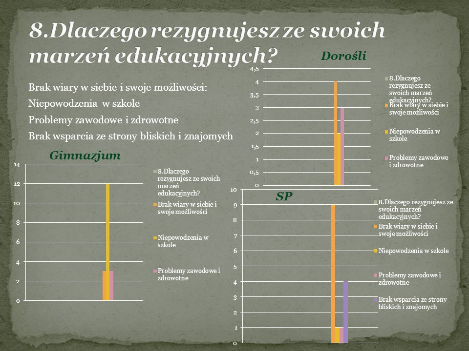 Opiekun: p.L. Juś Członkowie: S. Bartkowiak, A. Ciozda, R.