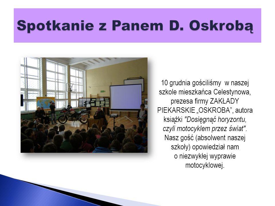 W dniach 26.11 - 7.12.2012 włączyliśmy się do XIII ogólnopolskiej akcji Góra grosza .