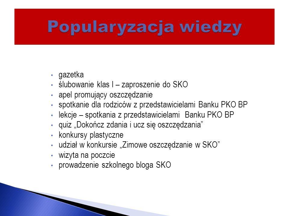 W banku PKO BP w Otwocku znajduje się 50414,24 zł (stan z dn.