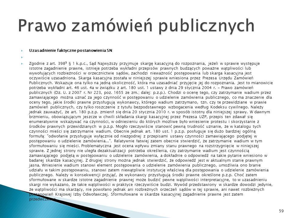 Postanowienie Sądu Najwyższego z dnia 7 maja 2010 r.