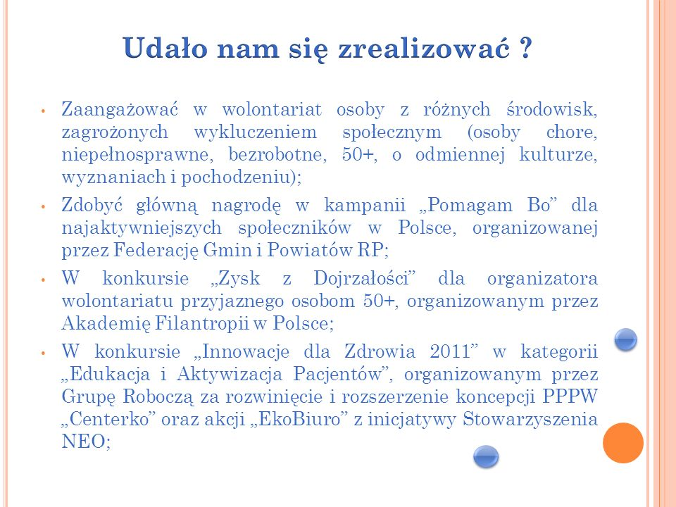 Zorganizować imprezę integracyjną pt.