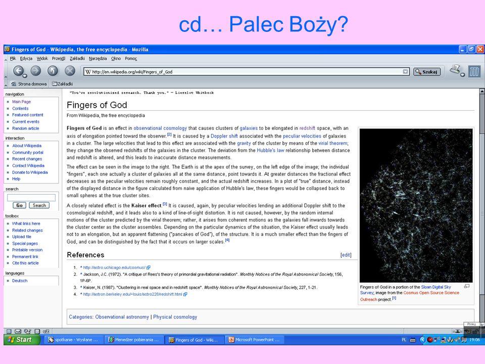 cd… Palec Boży?