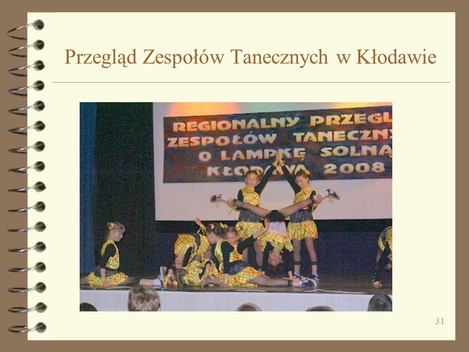 31 Przegląd Zespołów Tanecznych w Kłodawie