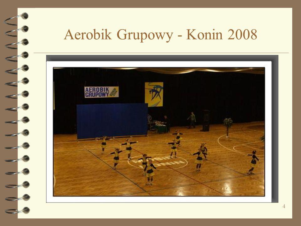 4 Aerobik Grupowy - Konin 2008