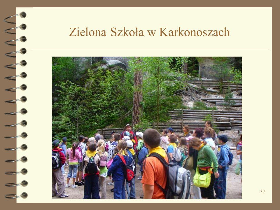 52 Zielona Szkoła w Karkonoszach