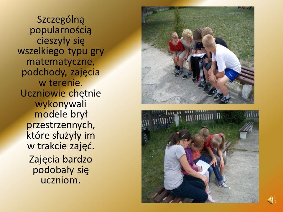 Zajęcia miały także na celu przygotowanie uczniów do zawodów sportowych.