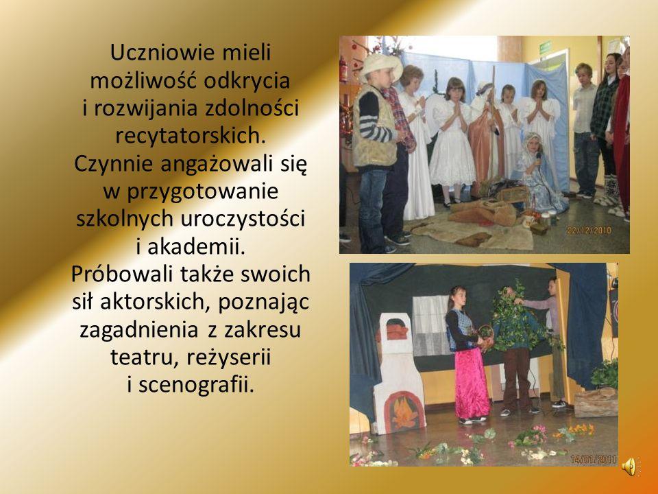 6.TERAPIA LOGOPEDYCZNA, prowadzona przez p. mgr Annę Tutek.