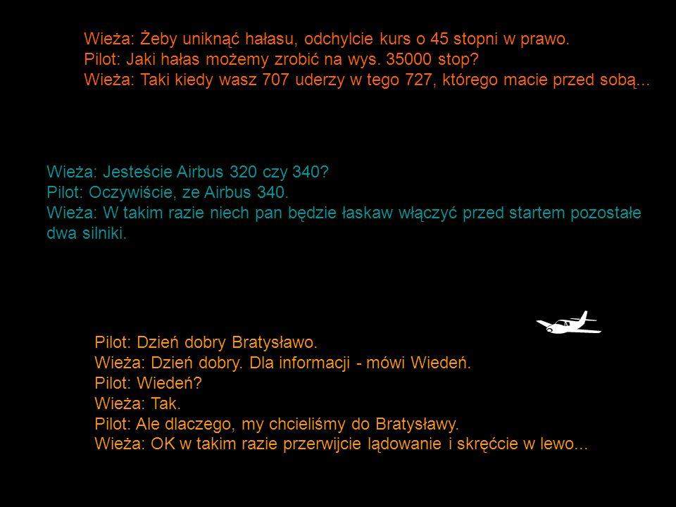 Pilot Alitalia, któremu piorun wyłączył pół kokpitu: Skoro wszystko wysiadło, nic już nie działa, wysokościomierz nic nie pokazuje.... Po pięciu minutach nadawania odzywa się pilot innego samolotu: Zamknij się, umieraj jak mężczyzna Pilot: Mamy mało paliwa.