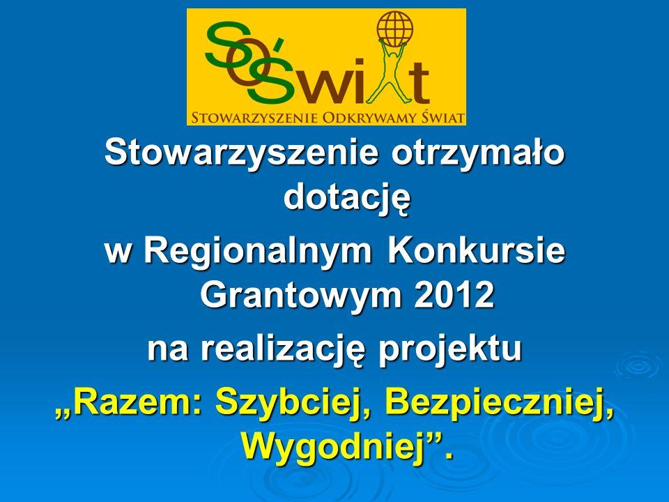 Konkurs został ogłoszony przez Polsko-Amerykańską Fundację Wolności w ramach programu Równać Szanse.