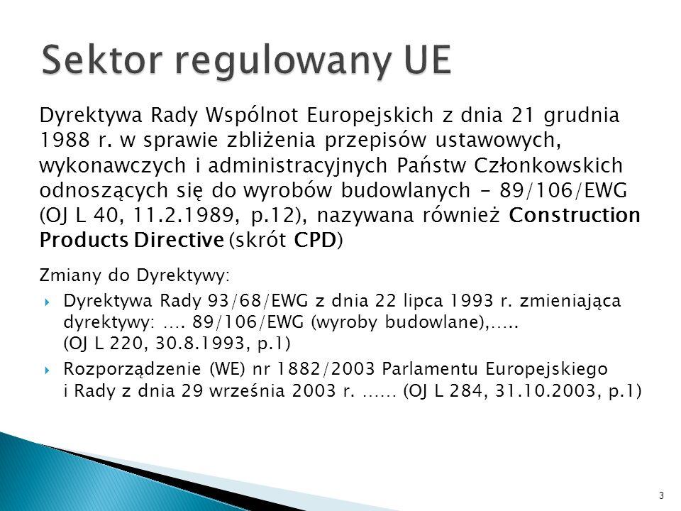 Dyrektywa Rady Wspólnot Europejskich z dnia 21 grudnia 1988 r. w sprawie zbliżenia przepisów ustawowych, wykonawczych i administracyjnych Państw Człon
