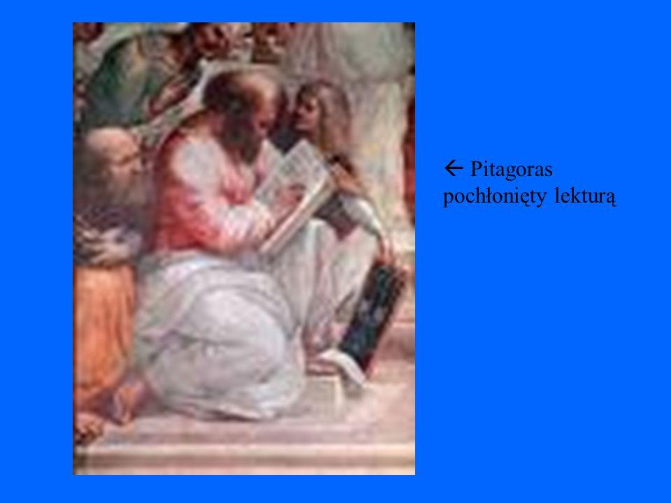 Pitagoras podczas pracy
