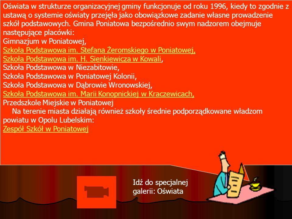 Oświata w strukturze organizacyjnej gminy funkcjonuje od roku 1996, kiedy to zgodnie z ustawą o systemie oświaty przejęła jako obowiązkowe zadanie wła