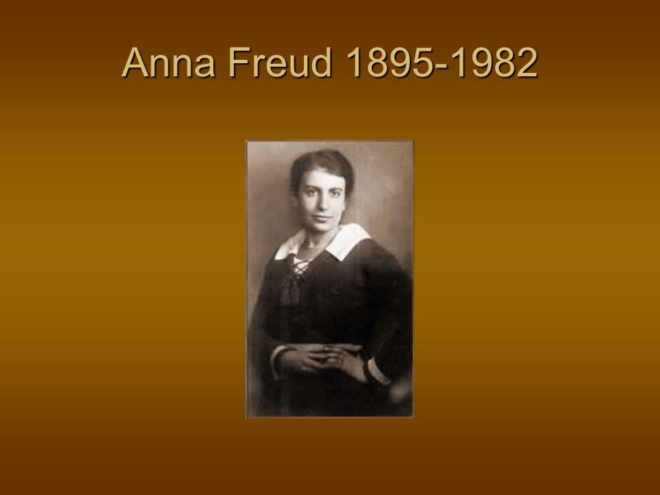 Anna Freud 1895-1982