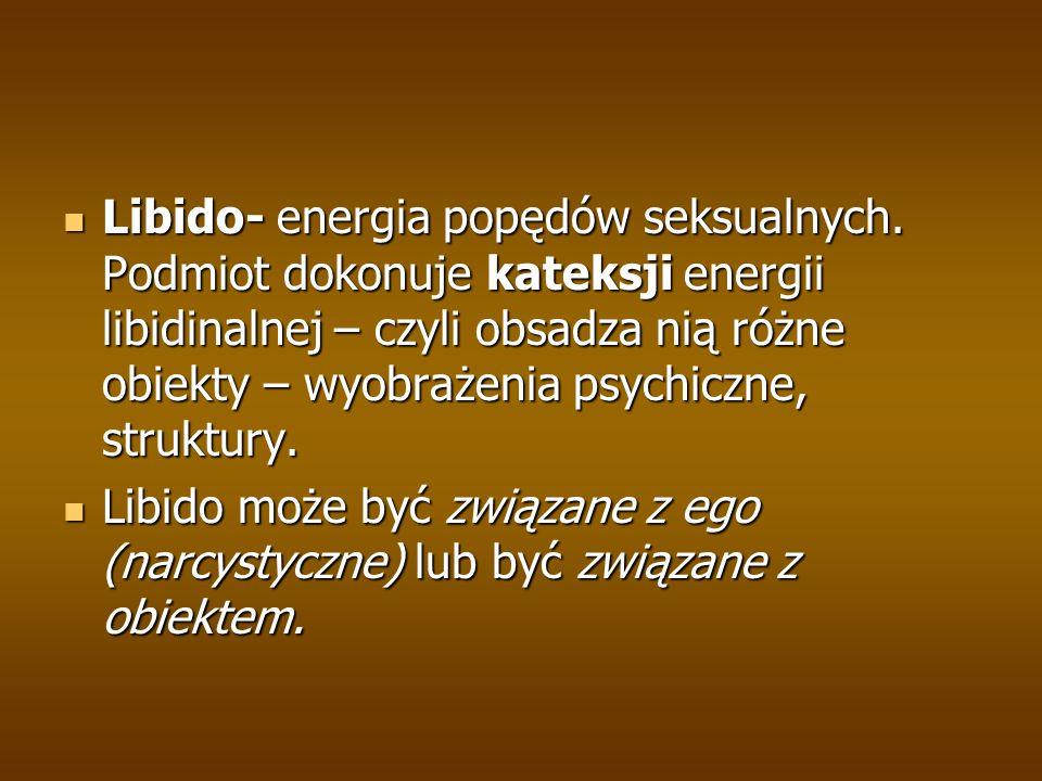 Libido- energia popędów seksualnych.