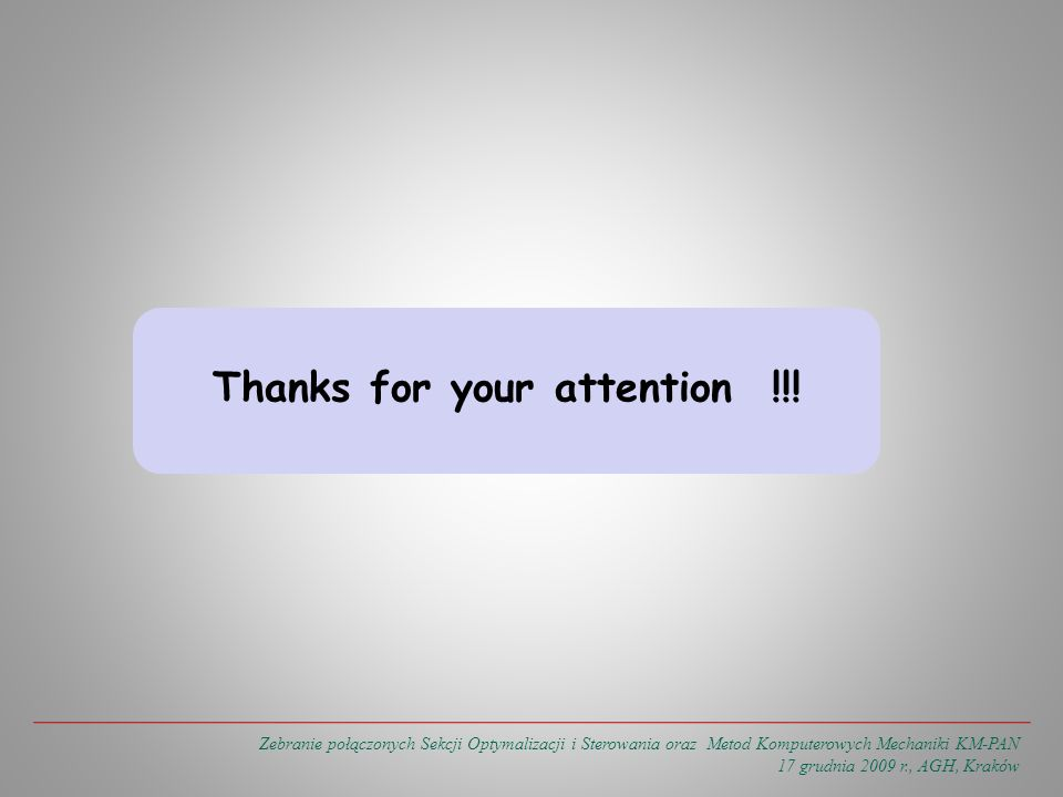 Thanks for your attention !!.