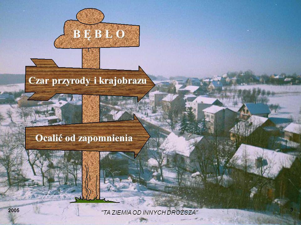 2005 TA ZIEMIA OD INNYCH DROŻSZA 43 Ja chcę wrócić znowu na wieś Do rodzinnych sadów, pól, Bo mam dość już tych hałasów I tych różnych miejskich ról.
