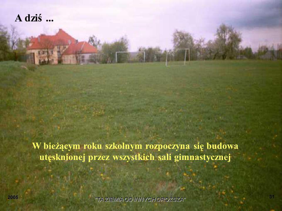 2005 TA ZIEMIA OD INNYCH DROŻSZA 30 Hymn LZS,,ORZEŁ 1948 BĘBŁO Bębło, Bębło każdy zna, Bo sportowców dobrych ma.