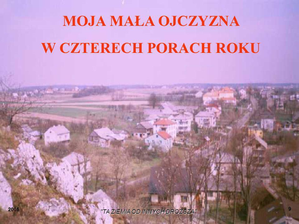 2005 TA ZIEMIA OD INNYCH DROŻSZA 19 Krystyna Janecka Tutaj się urodziłam...