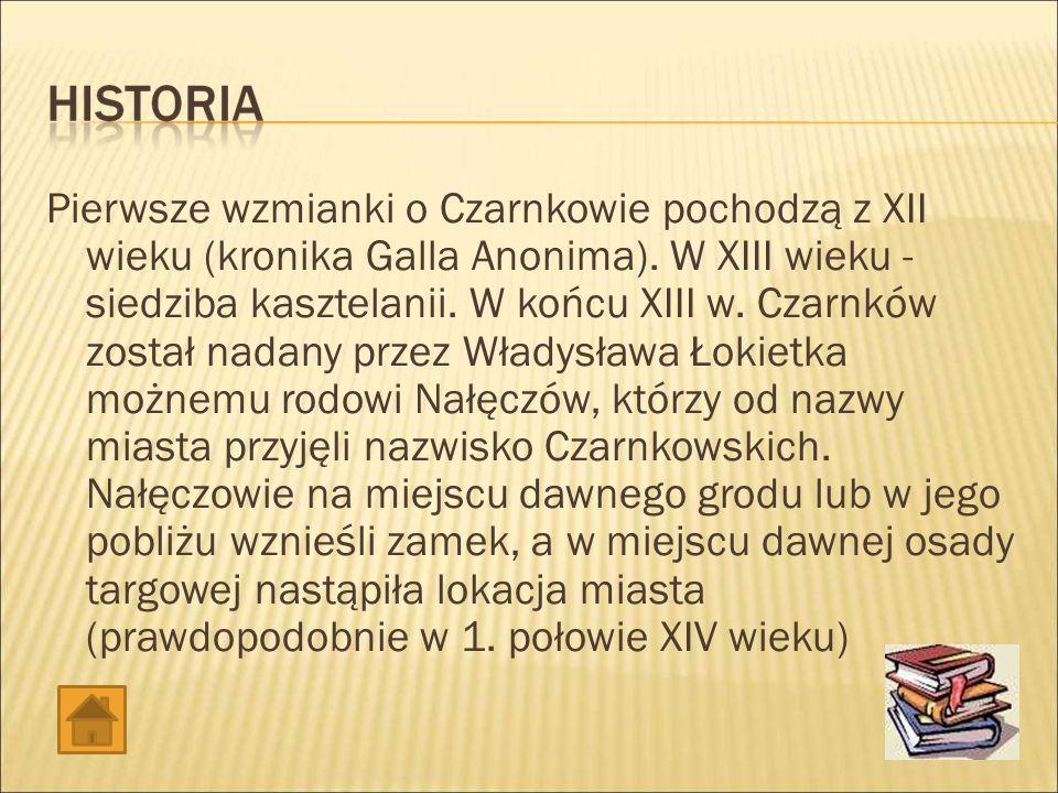 Historia Ratusz MCK Gazeta Burmistrz Muzeum Ziemi Czarnkowskiej Szkoły Galeria