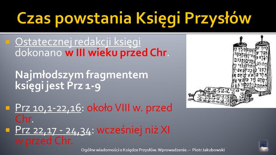 1.P aralelizm synonimiczny 2. P aralelizm antytetyczny 3.