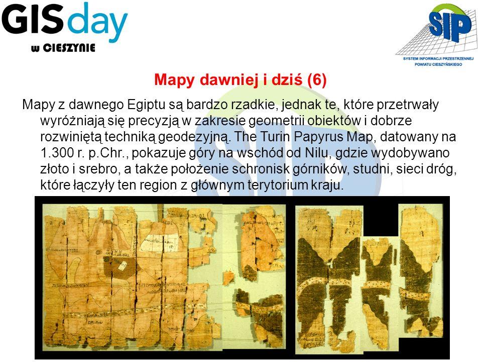 15 Mapy z dawnego Egiptu są bardzo rzadkie, jednak te, które przetrwały wyróżniają się precyzją w zakresie geometrii obiektów i dobrze rozwiniętą tech