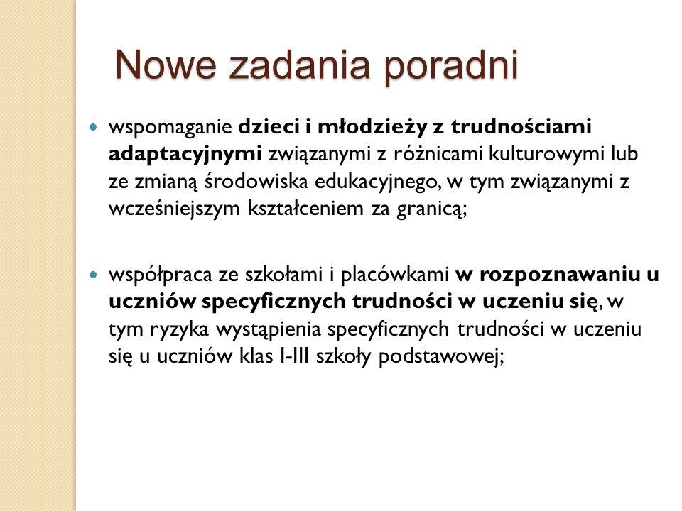Zadania nauczycieli specjalistów Zadania logopedy (§ 30 Rozp.