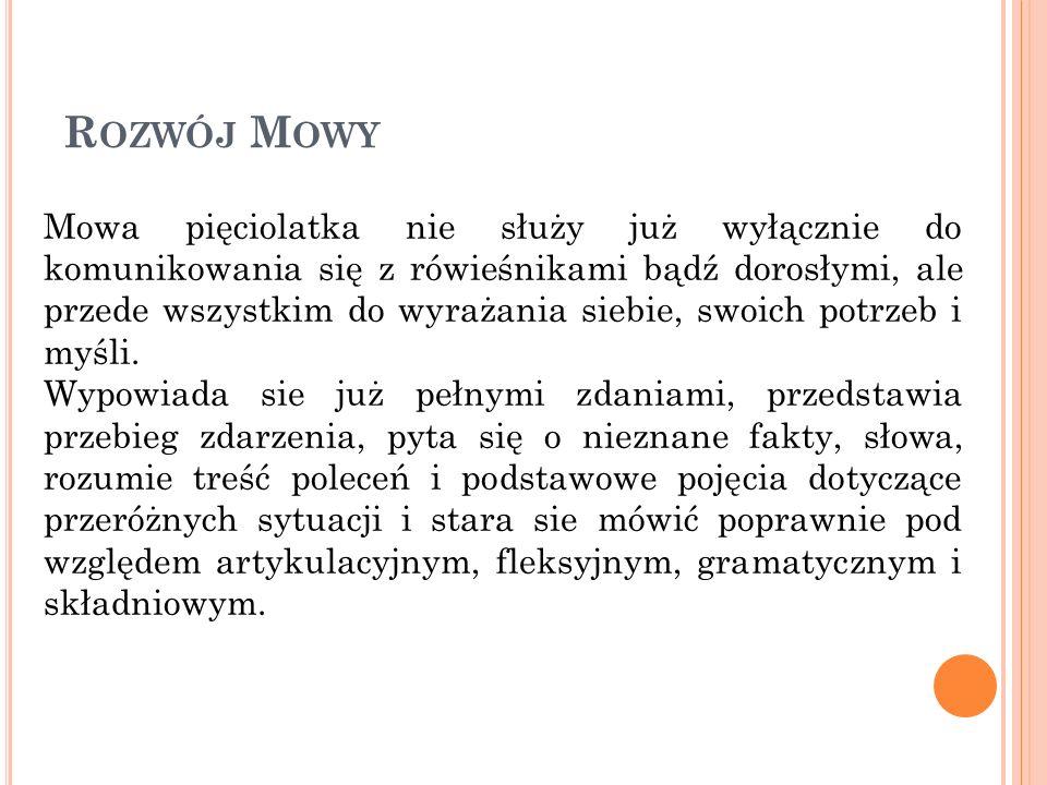P OTRZEBY DZIECI 5-6 LETNICH zabawa !!.