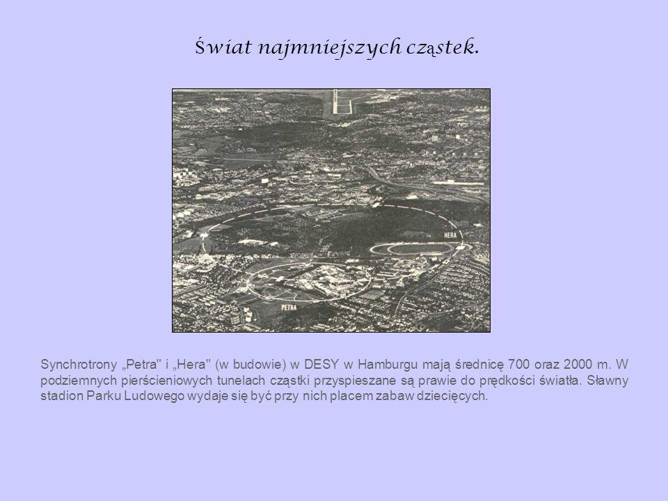 Ś wiat najmniejszych cz ą stek. Synchrotrony Petra