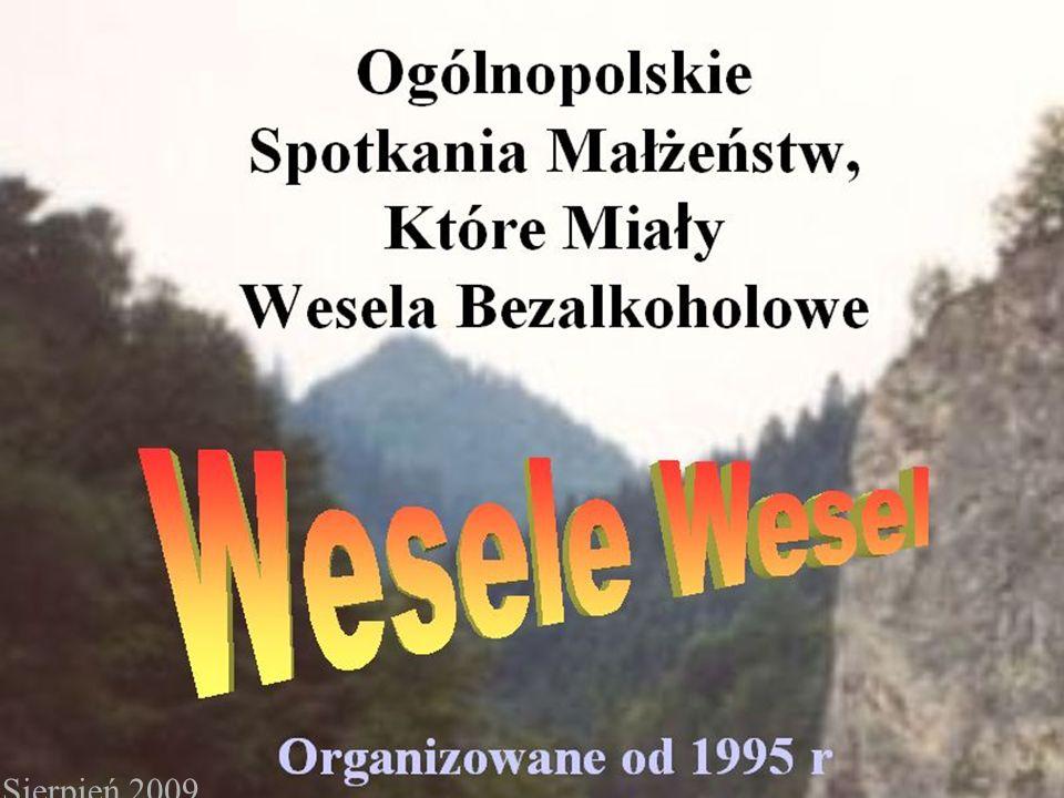 Program Wesela Wesel Odnowienie przyrzeczeń małżeńskich Pod przewodnictwem Ks.