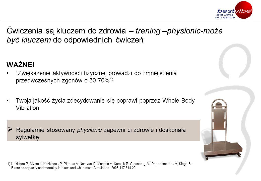 Ćwiczenia są kluczem do zdrowia – trening –physionic-może być kluczem do odpowiednich ćwiczeń WAŻNE! Zwiększenie aktywności fizycznej prowadzi do zmni