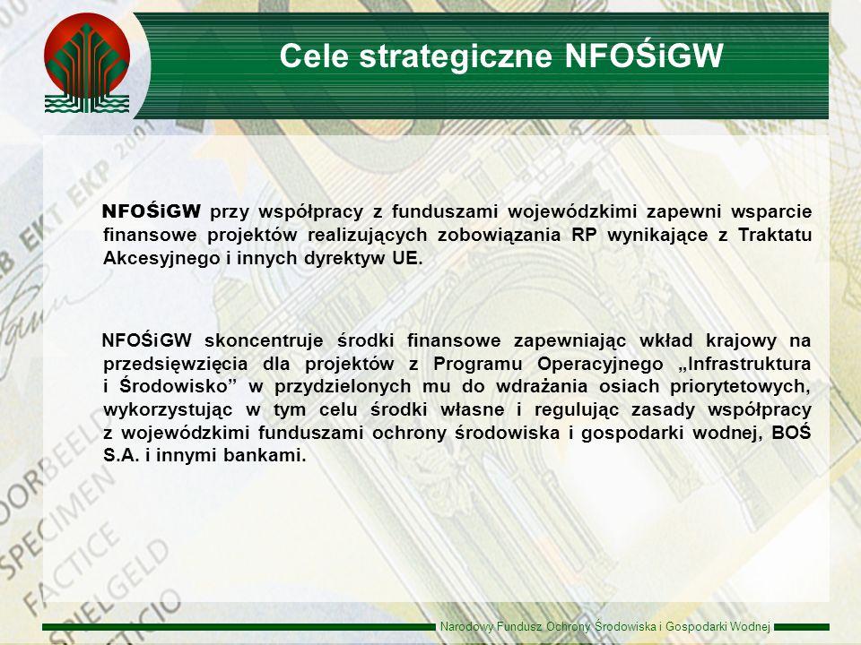 Narodowy Fundusz Ochrony Środowiska i Gospodarki Wodnej NFOŚiGW przy współpracy z funduszami wojewódzkimi zapewni wsparcie finansowe projektów realizu