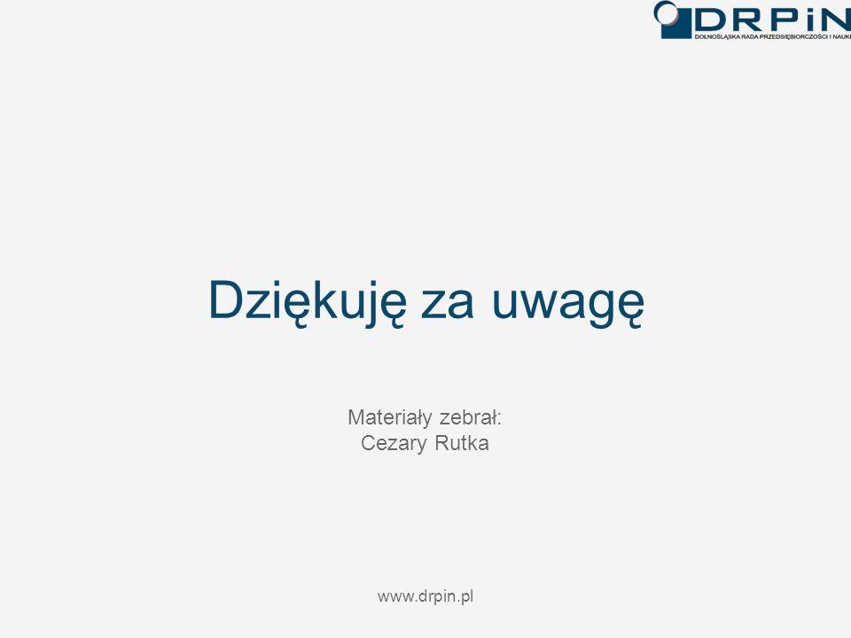 www.drpin.pl Dziękuję za uwagę Materiały zebrał: Cezary Rutka