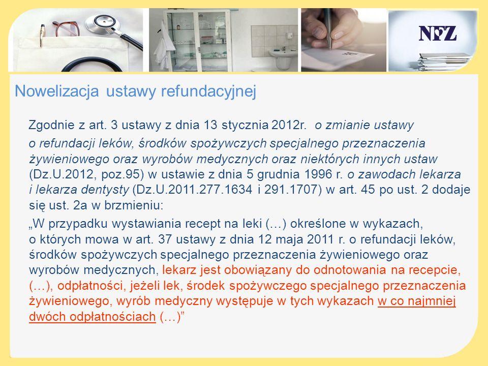 Import docelowy W związku z wejściem w życie ustawy z dnia 12 maja 2011r.