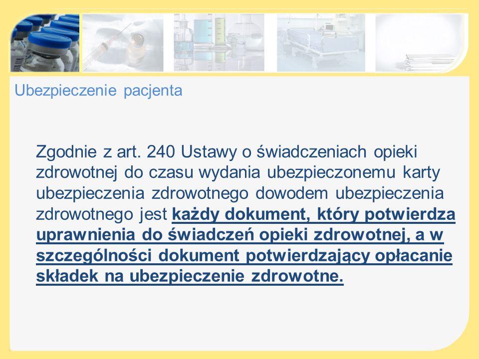 Kontrola dokumentacji medycznej Zgodnie z § 29 ust.