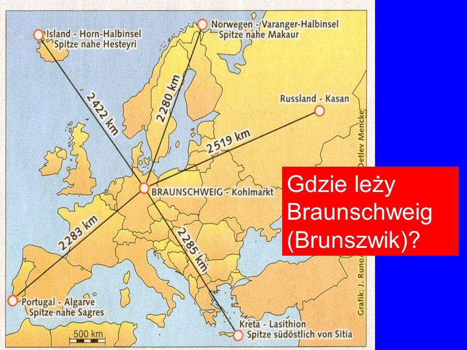 Gdzie leży Braunschweig (Brunszwik)?