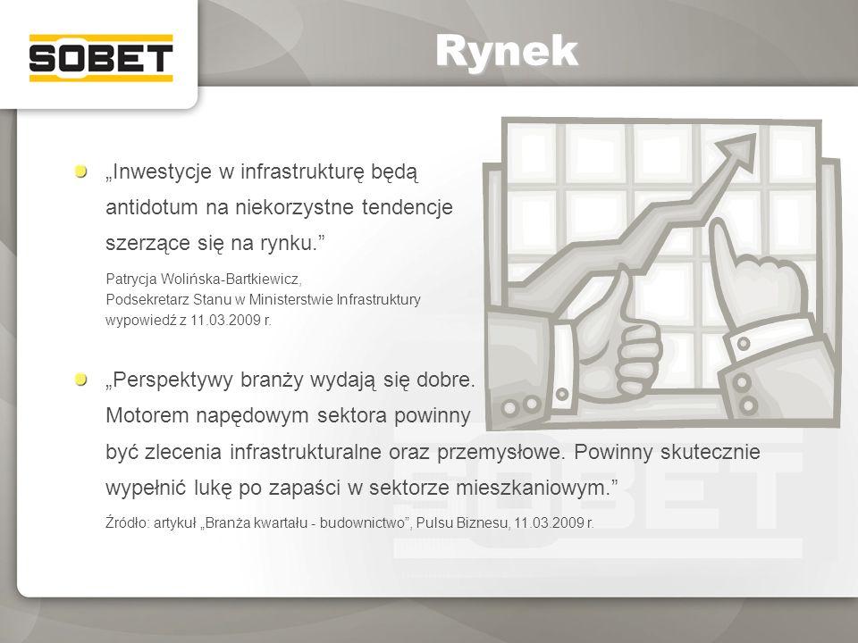 Inwestycje w infrastrukturę będą antidotum na niekorzystne tendencje szerzące się na rynku. Patrycja Wolińska-Bartkiewicz, Podsekretarz Stanu w Minist