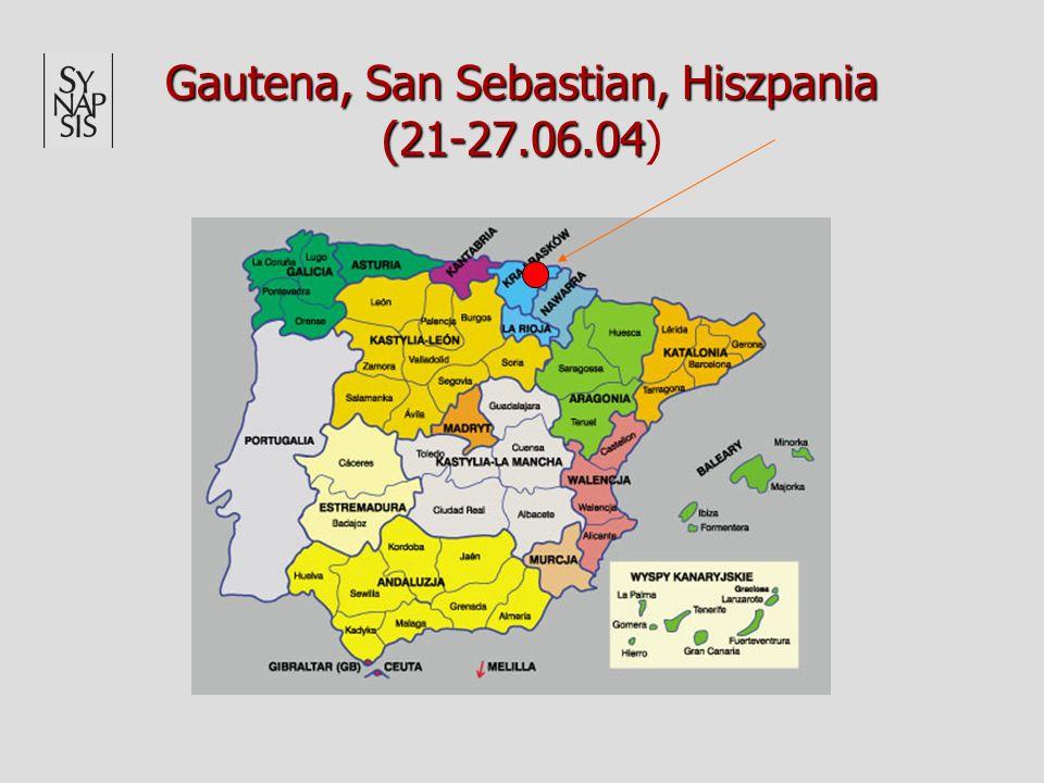 Gautena, San Sebastian, Hiszpania (21-27.06.04 Gautena, San Sebastian, Hiszpania (21-27.06.04)