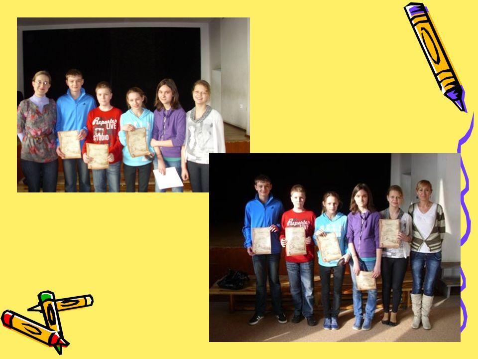 ETAP MIĘDZYSZKOLNY Dnia 06.05.2011 roku w Gimnazjum nr 1 odbył się etap międzyszkolny w którym wzięła udział przedstawicielka Naszej szkoły Julia Graczyk, uczennica klasy 6a.