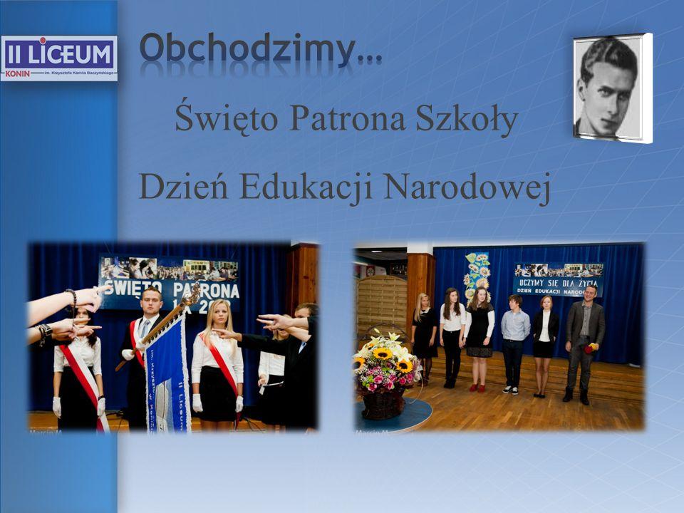Święto Patrona Szkoły Dzień Edukacji Narodowej