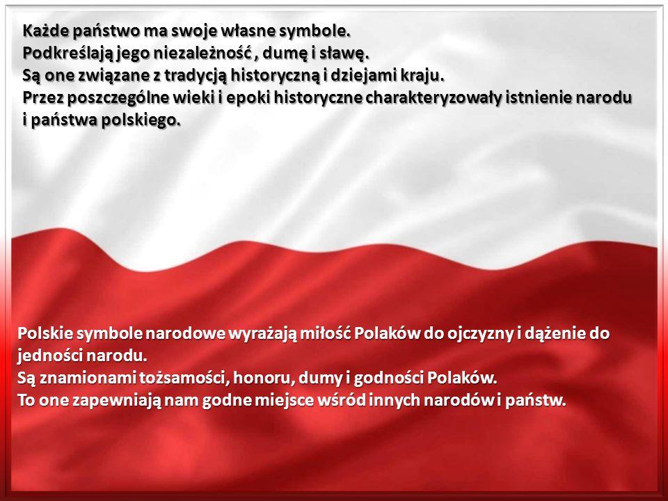 Każde państwo ma swoje własne symbole. Podkreślają jego niezależność, dumę i sławę. Są one związane z tradycją historyczną i dziejami kraju. Przez pos