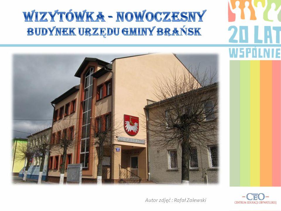 Autor zdjęć : Rafał Zalewski Istotną zmianą był remont budynku urzędu. Oddany do ponownego użytkowania w 2008 r., stał się chlubą mieszkańców Gminy Br