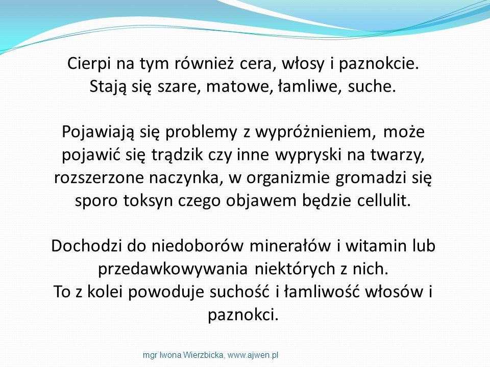 KILKA PRZYKŁADÓW ODŻYWIANIA SIĘ mgr Iwona Wierzbicka, www.ajwen.pl