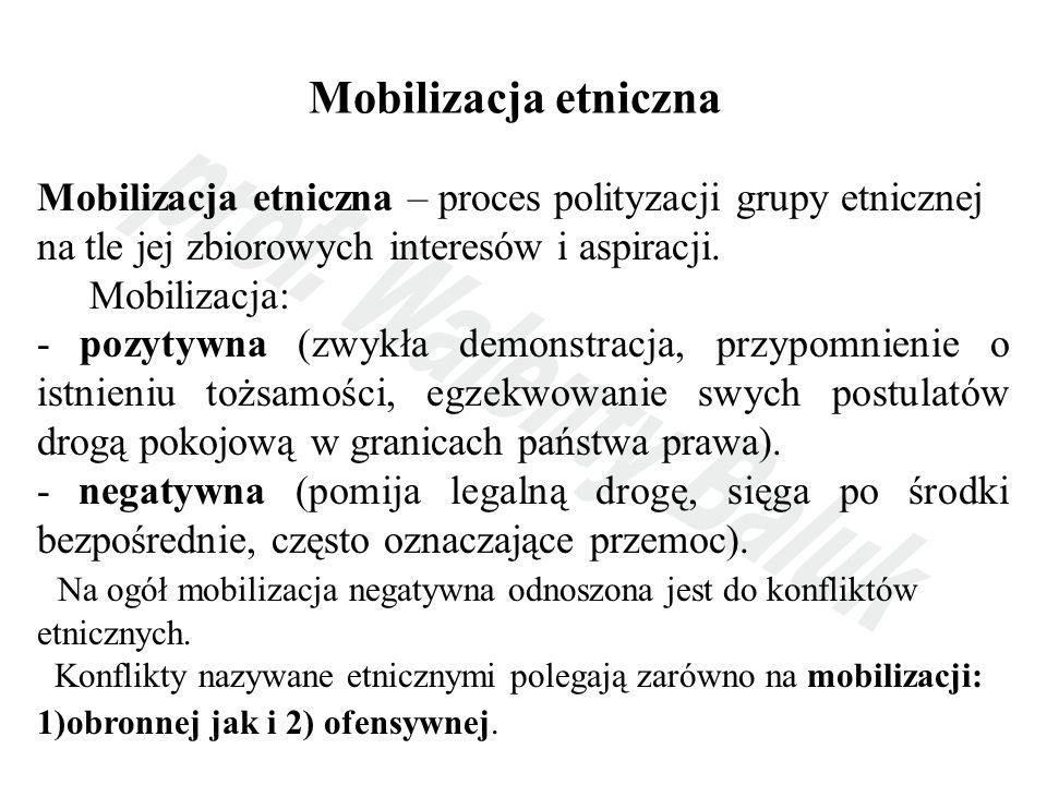 2) Konflikty etniczne ze względu na uprzedzenia - konflikty etniczne o podłożu historycznym (polsko- żydowski, polsko-ukraiński) - konflikty etniczne o podłożu ksenofobicznym; 3) Konflikty etniczne ze względu na odmienność wzorców życia - konflikty etniczne o podłożu religijnym - konflikt etniczny o podłożu rasowo-kulturowym