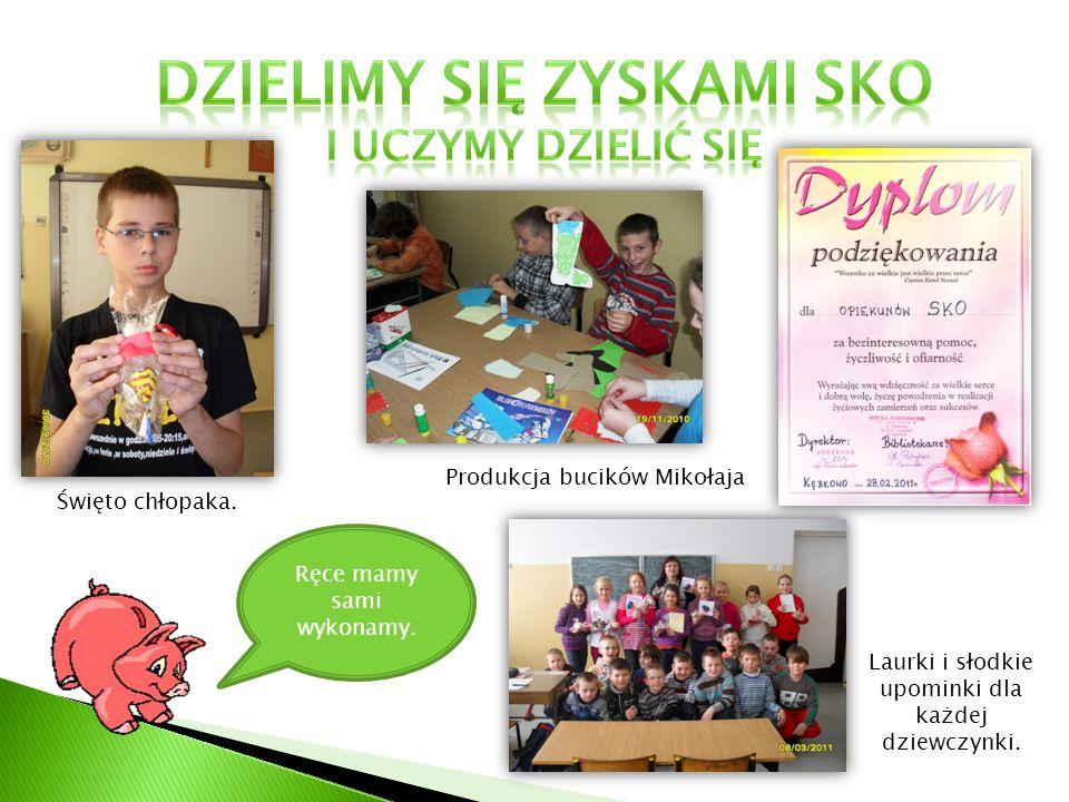Produkcja bucików Mikołaja Laurki i słodkie upominki dla każdej dziewczynki.